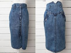 Check out this item in my Etsy shop https://www.etsy.com/uk/listing/463094014/1980s-maxi-vintage-denim-high-waist