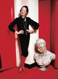 Diana Vreeland. Editrix Extraordinaire.