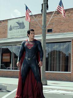 Superman Suit, Superman Henry Cavill, Superman Artwork, Superman Movies, Superman Man Of Steel, Dc Movies, Batman Vs Superman, Superman Pictures, Cinema Movies