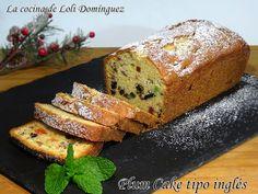 La cocina de Loli Domínguez: Plum Cake tipo inglés