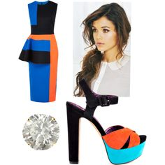 A fashion look from November 2014 featuring Roksanda Ilincic dresses, Jessica Simpson sandals and Auriya earrings. Browse and shop related looks.