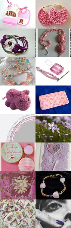 Pink or Purple you Pick by Nancy on Etsy--Pinned with TreasuryPin.com  #summerfinds