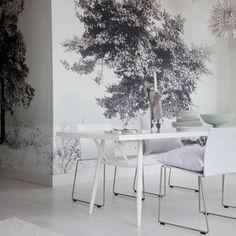 Brilliant white dining room   Modern dining rooms   housetohome.co.uk