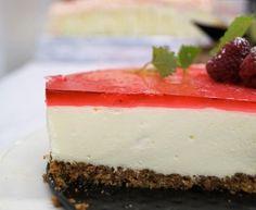 Blåbær Ostekake... - Oppskrift fra myTaste Pavlova, Cheesecake, Baking, Desserts, Food, Tailgate Desserts, Deserts, Cheesecakes, Bakken