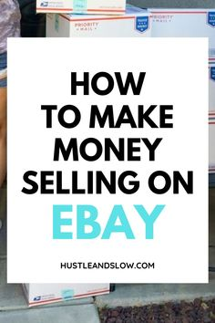 Want to learn how to sell on ebay? Here's a free training for you that goes over all the basics so you can start making money one Ebay. Ebay selling tips and more for beginners. Making Money On Ebay, Make Money From Home, How To Make Money, Ebay Selling Tips, Selling Online, Start A Business From Home, Starting A Business, How To Sell Clothes, What To Sell