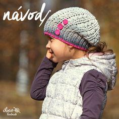 NÁVOD+č.104**...UNI+zimní+homeles+NÁVOD+doporučuji+pro+POKROČILÉ+háčkařky+:-)+NÁVOD+na+háčkovanou+čepici+z+velmi+teplého+vzoru+ze+směsové+příze+55%bavlna,+45%+akryl..+Čepice+háčkovaná+vzorem,+vhodným+hlavně+na+ZIMU,+vzor+je+vhodný+i+pro+CHLAPCE,+PÁNY,+dívky+i+ženy..+Velikosti+od+35-60+cm..+Podrobný+foto-návod+doplněný+spoustou+fotografií+krok+za+krokem,+nákresem... Girl With Hat, Kids And Parenting, Headbands, Crochet Hats, Knitting, Beanies, Strands, Caps Hats, Head Bands