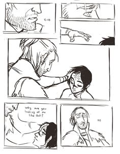 Inspired by this fic. Read it, rolled over and tried not to cry, cried a lot then attempted to draw something. (Omg)