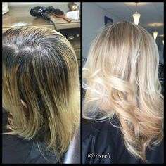 COLOR CORRECTION: From Grown Out Blonde To Dimensional Pale Wheat   Modern Salon