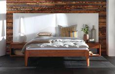 märchenhaftes Eichenbett Oak-Line   Genieße ruhige Stunden voller Entspannung in…