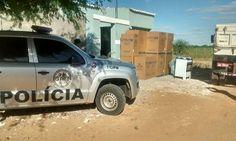 DE OLHO 24HORAS: Policiais de PE apreendem carga roubada no Ibó, no...