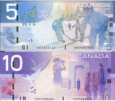 Canada ..... put a little colour in your pocket