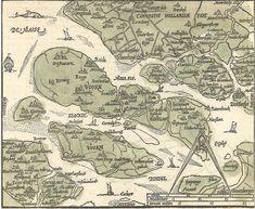 De Zuid-Hollandse eilanden in 1598, Zacharias Heyns.