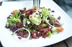 ストックフォト : Vegetable Salad & Bacon