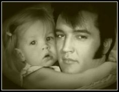 Elvis Aaron Presley and Lisa Marie Presley images Elvis . Elvis And Priscilla, Lisa Marie Presley, Priscilla Presley, Elvis Presley Family, Elvis Presley Photos, Burning Love, Star Wars, Memphis Tennessee, Merry Christmas And Happy New Year