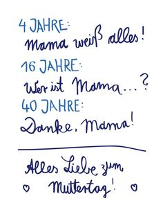Danke. Mama! #mutter #muttertag #mother #mothersday #words #love