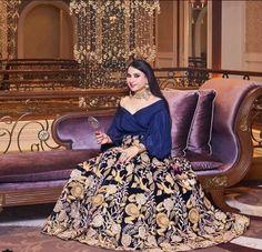 Threadwork & Dabka zardosi lehenga #dabiri#dabiricouture#indianwear#indiancouture#indianfashion#handembroidery#handmade#stunning#lehenga#realpeople@kaul.anita