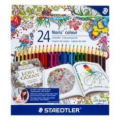 Noris Colored Pencils 24 Count CotColored PencilsArt SuppliesHobby LobbyColouring PencilsCrayons