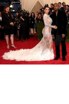 Kim Kardashian West & Kanye West -   The Hottest Couples at the 2015 Met Gala  - HarpersBAZAAR.com