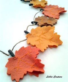 Items similar to Thanksgiving Garland - Fall Garland - Felt leaf - Felt Leaves - Seasons - ho. Items similar to Thanksgiving Garland - Fall Garland - Felt leaf - Felt Leaves - Seasons - home decorations - felt garland - Holiday decorations on Etsy, Fall Felt Crafts, Autumn Crafts, Thanksgiving Crafts, Thanksgiving Decorations, Holiday Crafts, Holiday Decorations, Fall Leaf Garland, Diy Garland, Felt Leaves