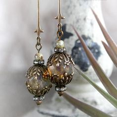 September Garden Earrings