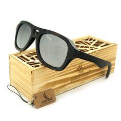 Men Wooden Sunglasses