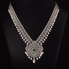 Jewellery For Sale Kijiji Halifax Real Gold Jewelry, Silver Jewellery Indian, Gold Jewellery Design, Cz Jewellery, Pearl Jewelry, Real Diamond Necklace, Diamond Jewelry, Diamond Necklaces, Diamond Pendant