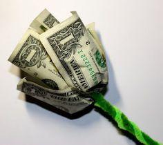 Crafting Ideas With Dollar Bills