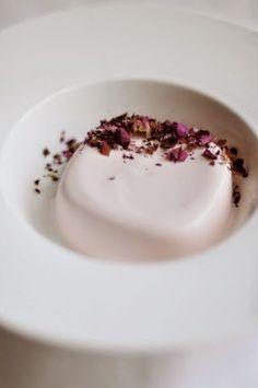 coconut milk & rosewater panna cotta