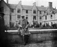 Edward VII at Balmoral Castle