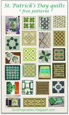 Free pattern day: St. Patrick's Day