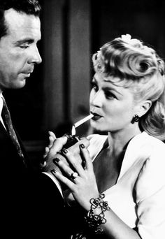 Dick Powell & Claire Trevor in Murder, My Sweet (1944)