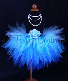 Whispering Waterfall  12 3 Tiered Sewn Pixie Tutu and by TutuTiara, $39.00