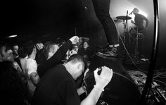 Slaves performing at The Hairy Dog. Photographed by Mark Richards.
