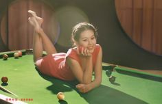 billiard girls