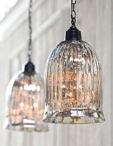 Hanging Antique Glass Pendant - Regina-Andrew Design | Luxe Home Philadelphia