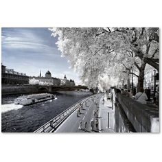 Trademark Fine Art Another Look at Paris X Canvas Art by Philippe Hugonnard, Size: 12 x 19, White