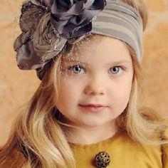 Kız Bebek Saç Bandı Modelleri 50