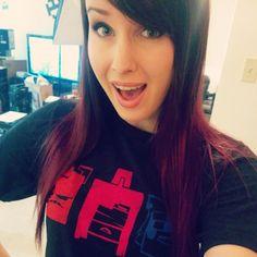 omgitsfirefoxx's photo on Instagram she's got that mianite shirt