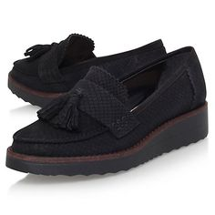 Buy Carvela Limbo Wedge Heeled Loafers Online at johnlewis.com