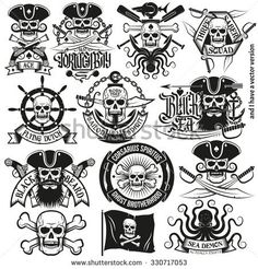 Image result for pirate logos
