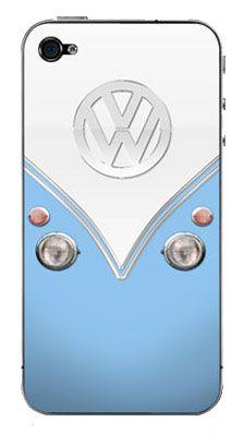 VW Bus iPhone case. I would like it better if it was sea foam green not blue