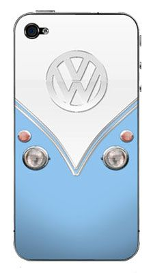 VW Bus iPhone case. I would like it better if it was sea foam green not blue