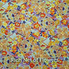 """Rich Net of Flowers Print 20x20"""" Pillow Case by SelemeHealth"""