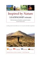 Inspired by Nature - Retreats in Leadingship