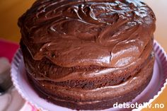 Mafioso Chocolate Cake | Det søte liv