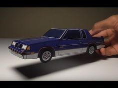 JCARWIL PAPERCRAFT 1987 Oldsmobile Cutlass 442 (Building Paper Model Car)…