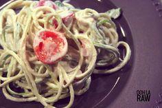 Zucchini Pasta Alfredo