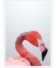 Geo Flamingo als Poster von Three Of The Possessed
