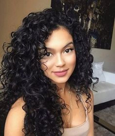 13 Natural looking beautiful curly hairstyles beautiful curly haircolor hairstyles natural naturalhairstyles Curly Hair Styles, Curly Hair Tips, Curly Bob Hairstyles, Long Curly Hair, Natural Hair Styles, Wavy Hair, Corte Y Color, Gorgeous Hair, Hair Type