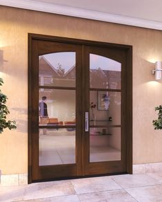 Double Arch 3 Lite IG Glass Mahogany Exterior or Interior Door Front Door Side Windows, Front Door Images, Front Door Design, French Doors Bedroom, French Doors Patio, Patio Doors, Black Exterior Doors, Wood Exterior Door, Colonial Exterior